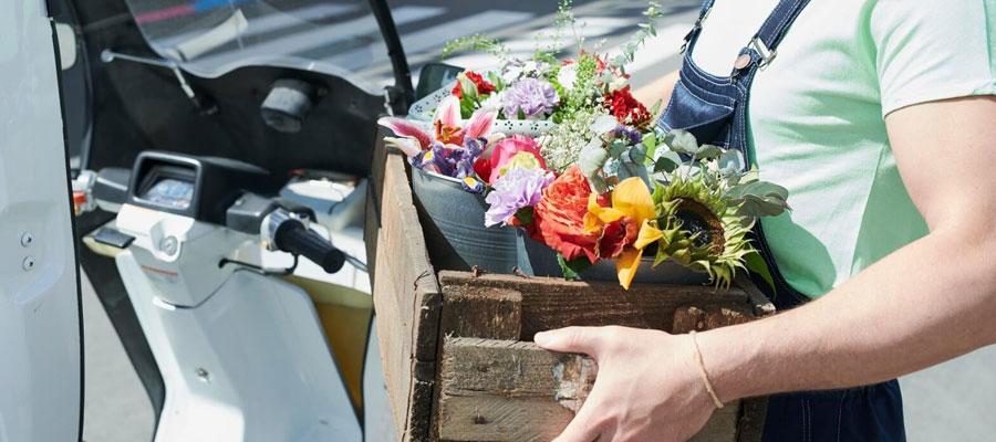 Livraison de fleurs et plantes