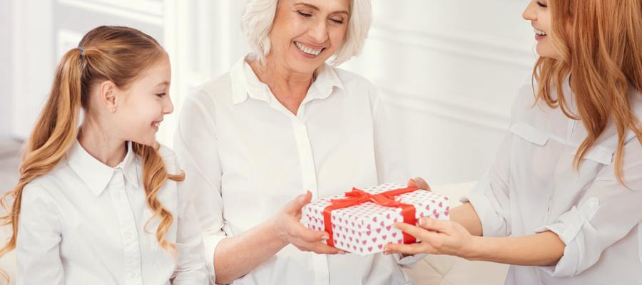 cadeau pour la fête des grands-mères