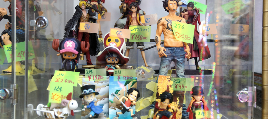 figurines Mangas