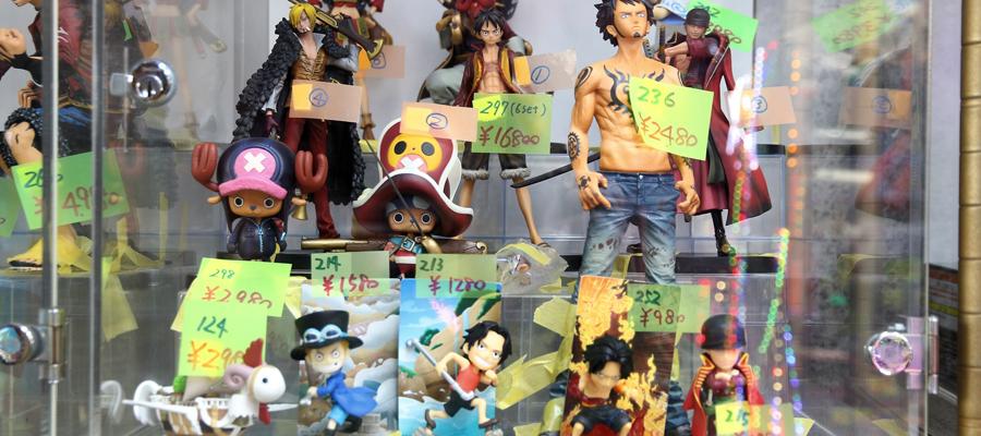 figurines Mangas
